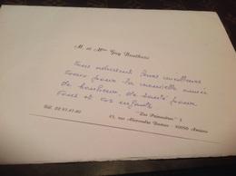 Amiens Carte De Visite - Visiting Cards
