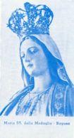 Ragusa - Santino Antico MARIA SS. DELLA MEDAGLIA - PERFETTO N92 - Religione & Esoterismo