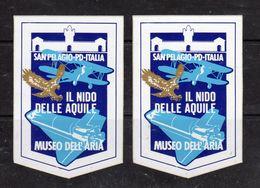San Pelagio (PD) - Museo Dell'Aria - Il Nido Delle Aquile - - Stickers