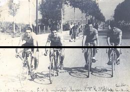 EQUIPE CYCLISTE AU FNO  1940  LE 25 KM FORMA 13 X 18      DD D - Cyclisme