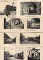 """LOT DE 7 CARTES """" SOUVENIR CAMPAGNE D'ALSACE 1914 - 15 - 16 """". + HAUTE ALSACE CHAPELLE - Cartoline"""