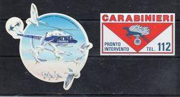 CARABINIERI - Pronto Intervento  Tel. 112 - Celo - - Stickers