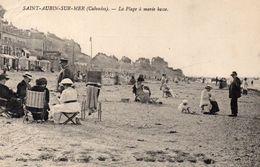 CPA SAINT AUBIN - LA PLAGE A MAREE BASSE - Saint Aubin