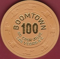 $100 Casino Chip. Boomtown, Las Vegas, NV. K53. - Casino