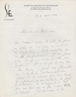 Lettre Autographiée Du Révérend Père Emile MARTIN,  Adressée Au Colonel REMY - Autographs