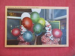Amusement Park  Ballons  Clown Euclid Park  Ohio > Cleveland  Ref 2847 - Cleveland