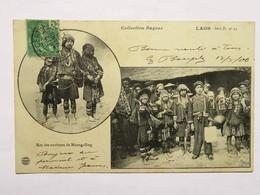 C.P.A. LAOS : Kos Des Environs De MUONG-SING, Timbre En 1900 - Laos