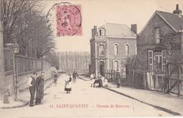 """SAINT-QUENTIN - Chemin De Rouvroy - """"Au Moulin De La Galette"""" - Animé - TBE - St. Quentin En Yvelines"""