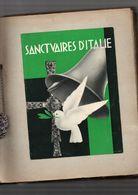 Journal De Voyage En Italie 1933 2 Fortes Chemises Avec Des Centaines De Documents Inclus - Manuscrits