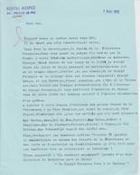 Lettre Autographiée Du Père Francis DELISSALDE ,  Adressée Au Colonel REMY - Autographes