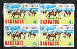 BARBADOS  Scott # 312** VF MINT NH BLK. Of 4 - Barbados (1966-...)