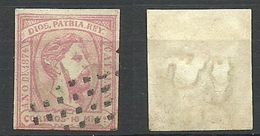 KATALONIA Cataluna 1874 Michel 5 Don Carlos O Mute Cancel RARE ! - 1873-74 Regencia