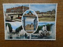 """Versailles , Multi-vues """" Carte Assez Rare De 1962 """" - Versailles (Château)"""