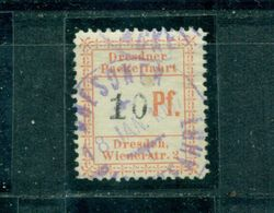 Stadtpost Dresden B, Nr 24 Gestempelt - Hamburg
