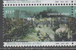 MEXICO, 2017, MNH, HISTORY, MILITARY, BATTLE OF MOLINO DEL REY,1v - History