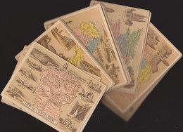 °°°°°   LOT DE 52  CHROMOS DEPARTEMENTS     °°°°° /////  REF  FEV. 18  //// - Trade Cards