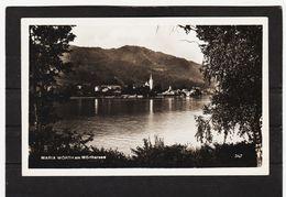 LKW510 POSTKARTE JAHR 1926 MARIA WÖRTH Am WÖRTHERSEE GEBRAUCHT SIEHE ABBILDUNG - Ansichtskarten