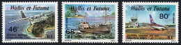 Wallis Et Futuna PA 1979 Yvert 89 / 91 ** TB Coin De Feuille - Airmail