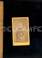 Photographie CDV : Paul SOLEILLET Explorateur Des Colonies Afrique St Louis Sénégal 1880 / Photo R CRESPON à NIMES - Personnes Identifiées