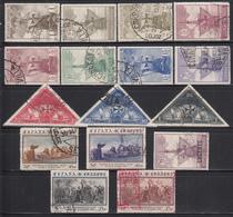 1930 ,  EDIFIL Nº 531 / 546  , DESCUBRIMIENTO DE AMÉRICA - 1889-1931 Kingdom: Alphonse XIII
