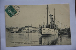 CHALON-sur-SAONE-chantiers Schneider-garde Cote De La Marine Imperiale Ottomane - Chalon Sur Saone
