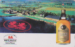Télécarte Japon / 110-011 - ALCOOL - WHISKY WHITE & MACKAY ** SCOTLAND ** - ALCOHOL Japan Phonecard - ALKOHOL TK - 961 - Reclame