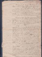 Reine Roussel à Sainte-Anne En Romagné.J.Bigot à La Vigne En Fougères.M.Germerie,La Bardoulais En Lécousse. - Manuscripts