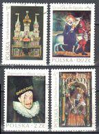 Poland 1974 - Masterpieces Of Polish Art - Mi.2346-49 - Used - Usados