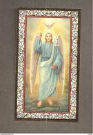 SAN GABRIELE ARCANGELO -  F.lli Bonella - SANTINO CORNICE ORO CON PREGHIERA - Devotion Images