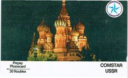 PHONECARDS--RUSSIA- 30 ROUBLES -COMSTAR USSR - Russia