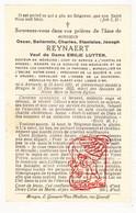 DP Dokter Chirurg St-Jan - Oscar Bellarmin Reynaert / Wibo ° Aarsele Tielt 1871 † Brugge 1932 X E. Luyten Begr Assebroek - Devotion Images