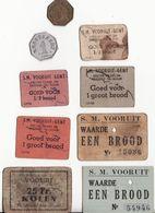 NOODGELD VOORUIT 9 VERSCHILLENDE - Monetary / Of Necessity