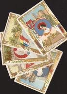 °°°°°  11 CHROMOS ANCIENNES PROVINCES FRANCAISES    °°°°° /////  REF  FEV. 18  //// - Trade Cards