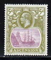 Ascension 1924 Yvert 15A ** TB - Ascension