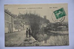 MONTBARD-la Gendarmerie Et La Brenne-pecheurs - Montbard