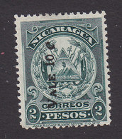 Nicaragua, Scott #235, Mint No Gum, Arms Surcharged, Issued 1909 - Nicaragua