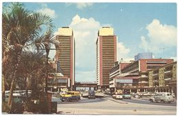 VENEZUELA - 1970 - Missed Stamp - Caracas - Centro Simon Bolivar - Viaggiata Da ???? Per Forlì, Italy - Venezuela