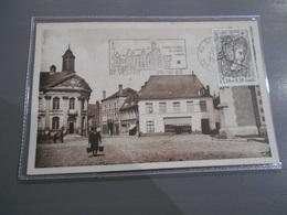 D . 62 - SAINT VENANT Hôtel De Ville Bistrot Bières Coq Hardi - France