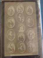 SECOND EMPIRE - 13 PORTRAITS DE S.M. L'EMPEREUR NAPOLÉON III De 1851 à 62 - - Anciennes (Av. 1900)
