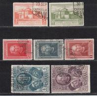 1930 ,  CORREO AÉREO EDIFIL Nº 559 / 565  , DESCUBRIMIENTO DE AMÉRICA - 1889-1931 Kingdom: Alphonse XIII