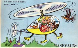 CPA - MASEVAUX (68) - Carte à Système Avec Dépliant De 10 Images - Années 50 - Masevaux