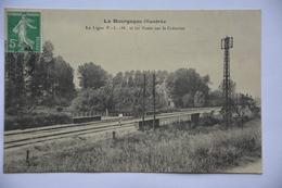 La Bourgogne Illustree-la Ligne P.L.M. Et Les Ponts Sur Le Creanton - Bourgogne