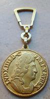 Porte  Clefs:   CAFÉ   EXCELLA  - Louis XIV Introduit Le Café En France 1644 - Key-rings