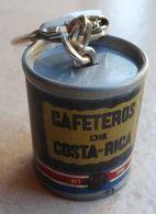 Porte  Clefs:   CAFÉ   EXCELLA  - CAFETEROS DIE COSTA RICA  - CALIDAR  SUPERIOR  EXCELLA - Key-rings