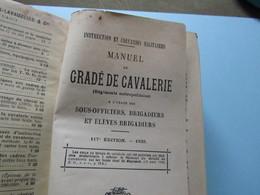 Manuel Du Gradé De Cavalerie 1935 - Books