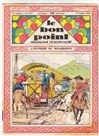 Le Bon Point Amusant Et Instructif  N° 1235 30 Juillet 1936 L' Express De Melbourne Réf 32 - Tijdschriften