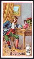 CHROMO   Chocolat SUCHARD      Voyages De Gulliver    Serie 85 - Suchard