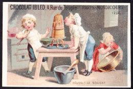 CHROMO Chocolat IBLED Paris - Mondicourt        Lith.  Repesse Crepel Arras - Ibled