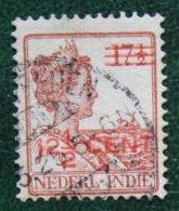 12 1/2 Op 17 1/2 Hulpuitgifte NVPH 142 1921 - 1922 Used / Gestempeld NEDERLAND INDIE / DUTCH INDIES - Indes Néerlandaises
