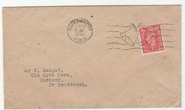 1945 GB GVI Stamps COVER Kidderminster  'V' Victory BELLS' SLOGAN Pmk Wwii - 2. Weltkrieg